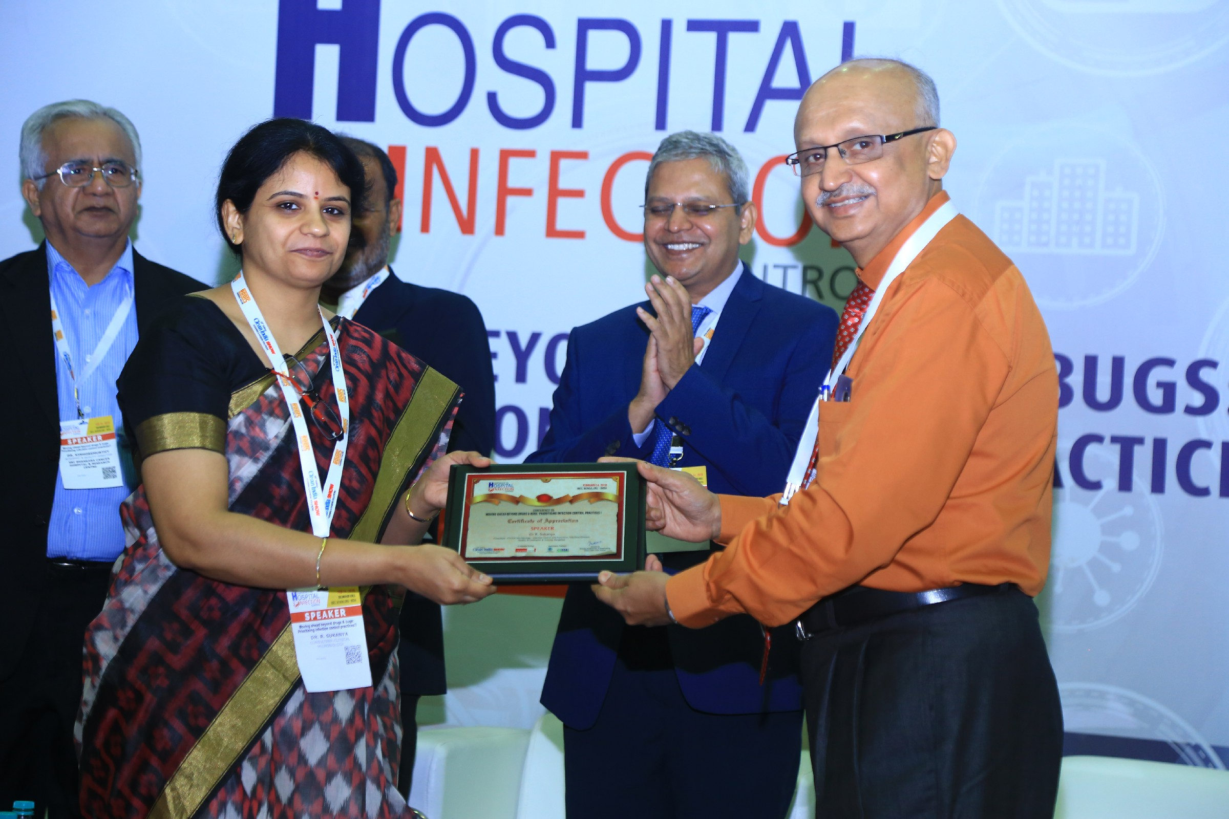 Dr-R.-Sukanya-Consultant-Infection-Control-and-Prevention-Infectious-Diseases-Quality-Accreditation-Dr-Raghavendra-Kulkarni-Prof-Head-Dept-of-MicrobiologySDM