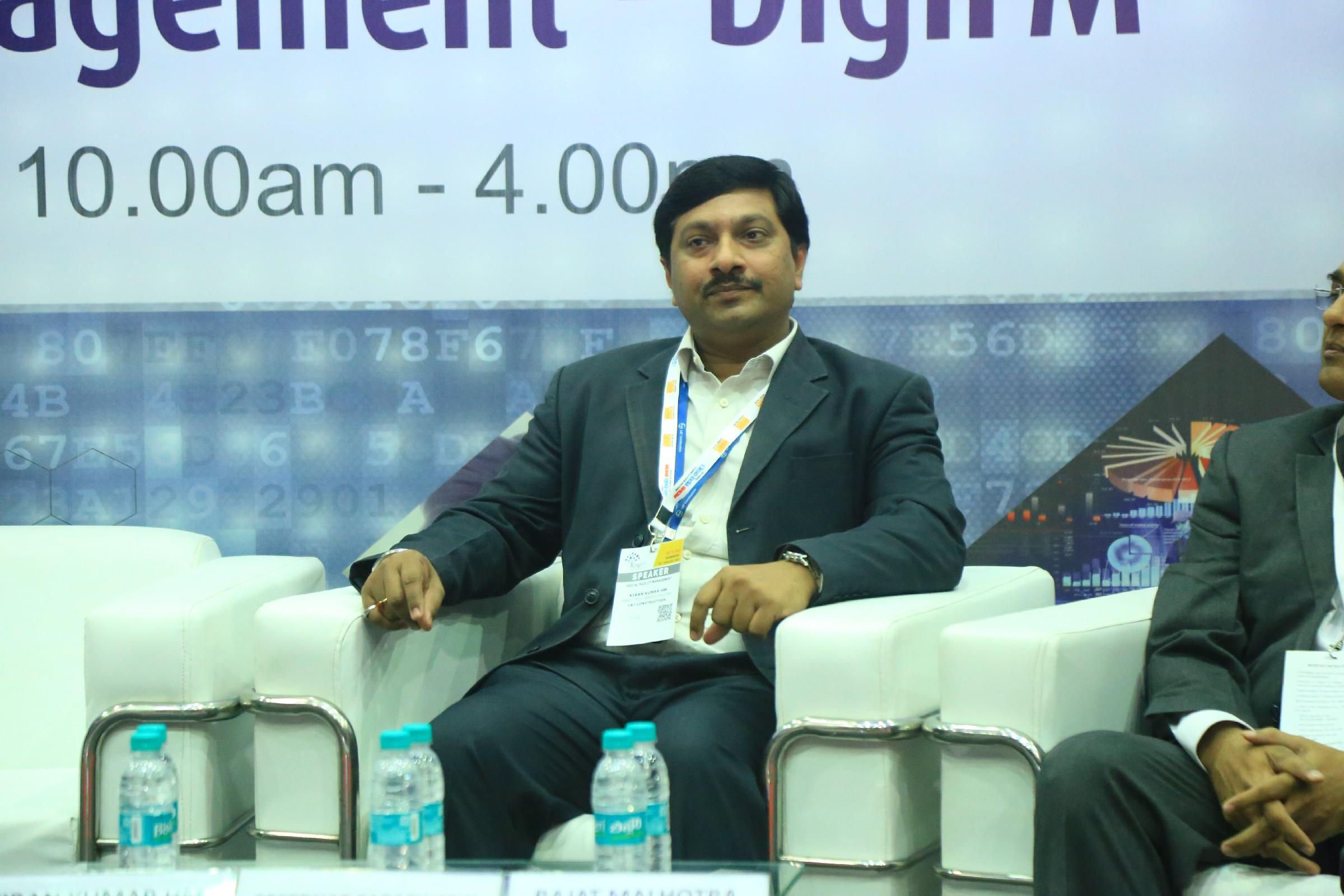 Kiran-Kumar-HM-Head-Tech-Service-Delivery-LT-Construction